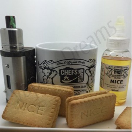 Nice Custard Cream Concentrate - Chefs Vapour