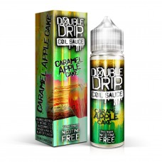 Caramel Apple Cake- Double Drip E Liquid Shortfill 50ml 0mg
