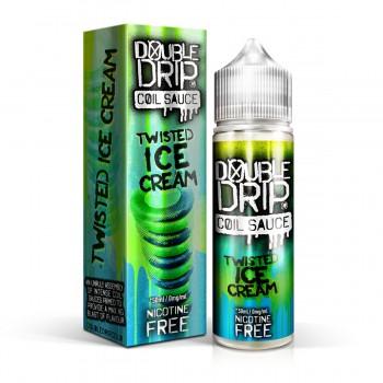 Twisted Ice Cream- Double Drip E Liquid Shortfill 50ml 0mg