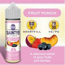 Fruit Punch - Daintys E Liquid Shortfill 50ml 0mg