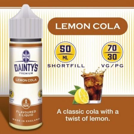 Lemon Cola - Daintys E Liquid Shortfill 50ml 0mg