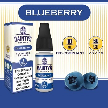 Blueberry E Liquid - Daintys