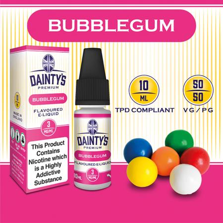Bubblegum E Liquid - Daintys