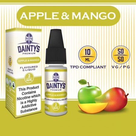 Apple & Mango E Liquid - Daintys
