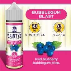 Bubblegum Blast - Daintys E Liquid Shortfill 50ml 0mg