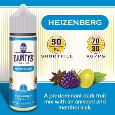 Heizenberg - Daintys E Liquid Shortfill 50ml 0mg