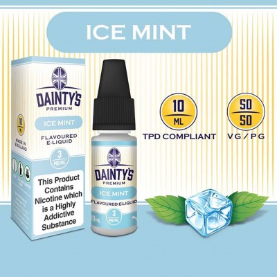 Ice Mint E Liquid - Daintys