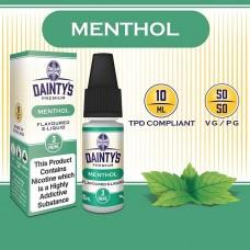 Menthol E Liquid - Daintys