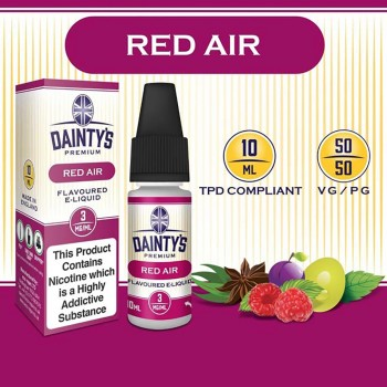 Red Air E Liquid - Daintys