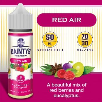 Red Air - Daintys E Liquid Shortfill 50ml 0mg