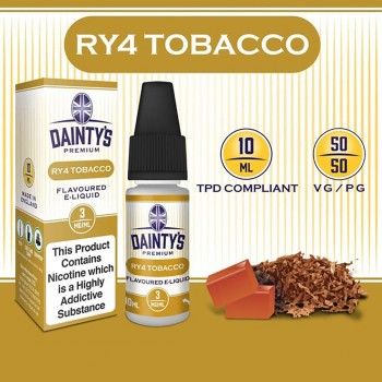 RY4 Tobacco E Liquid - Daintys