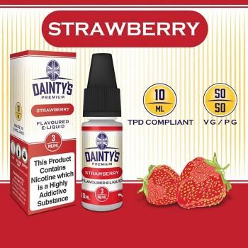 Strawberry E Liquid - Daintys