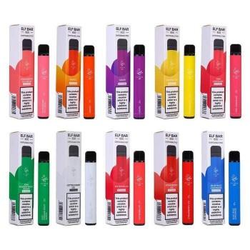 Elf Bar Disposable Pod Device - Range of Flavours