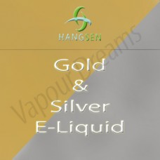 Gold & SIlver E Liquid 10mls - Hangsen