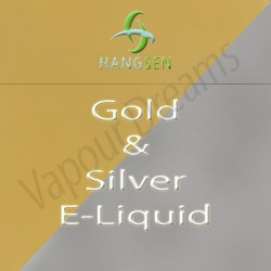 Gold & SIlver E Liquid 10mls - Hangsen