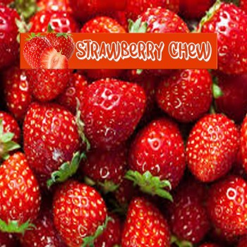 Strawberry Chew 50ml E Liquid - Shortfill