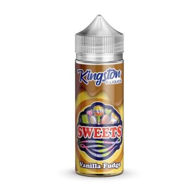 Kingston Sweets - Vanilla Fudge - 0mg 100ml Shortfill E-liquid