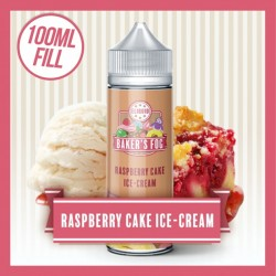 Bakers Fog - Raspberry Cake Ice cream 100ml Shortfill E Liquid