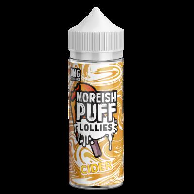 Moreish Puff Lollies - Cider - 0mg 100ml Shortfill E-liquid
