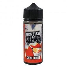 Moreish as Flawless - Creme Brulee Custard - 0mg 100ml Shortfill E-liquid