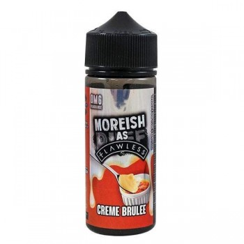 Moreish as Flawless - Creme Brulee Custard - 0mg 100ml Shortfill E-liquid