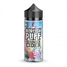 Moreish Puff Summer Cider On Ice- Mixed Berries - 0mg 100ml Shortfill E-liquid