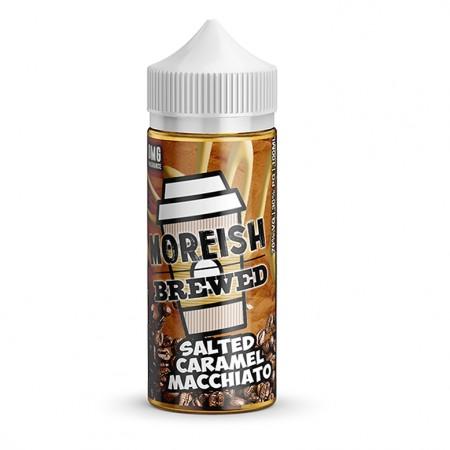 Moreish Brewed - Salted Caramel Macchiato - 0mg 100ml Shortfill E-liquid