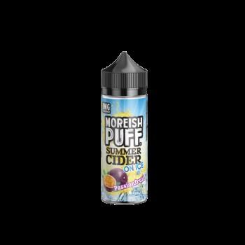 Moreish Puff Summer Cider On Ice- Passionfruit - 0mg 100ml Shortfill E-liquid