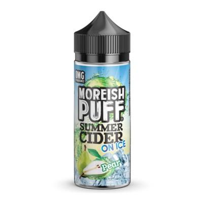 Moreish Puff Summer Cider On Ice- Pear - 0mg 100ml Shortfill E-liquid
