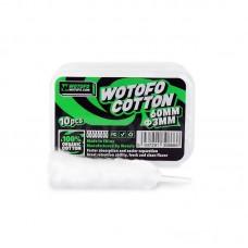 Wotofo Organic Cotton 60mm 3mm 30psc