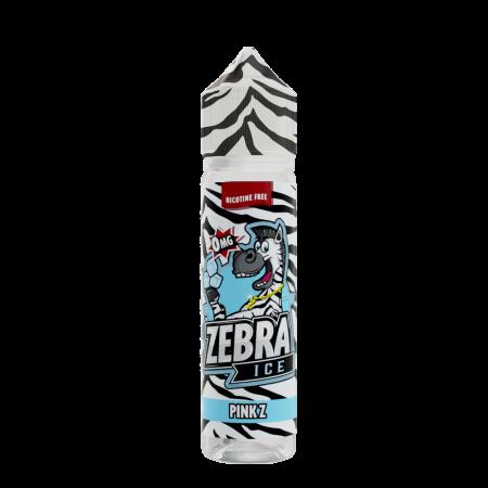 Zebra Ice - Pink Z E Liquid Shortfill 50ml 0mg