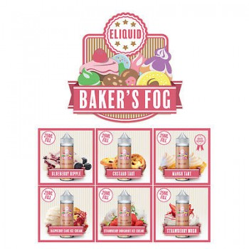 Bakers Fog - Strawberry Mush 100ml Shortfill E Liquid