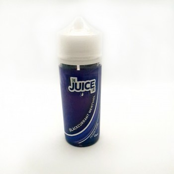 The Juice Lab - Blackcurrant Menthol - 0mg 100ml Shortfill E-liquid