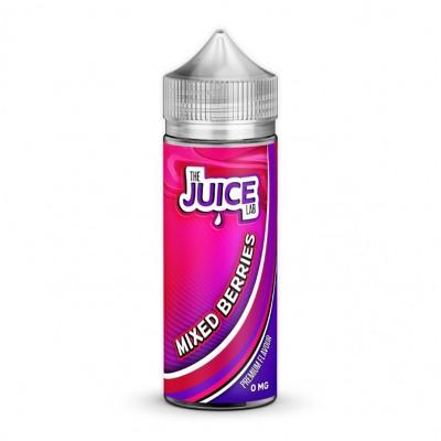 The Juice Lab - Mixed Berries - 0mg 100ml Shortfill E-liquid