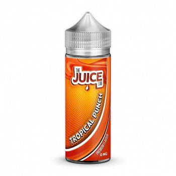 The Juice Lab - Tropical Punch - 0mg 100ml Shortfill E-liquid