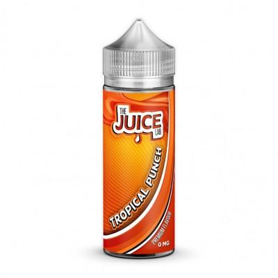 The Juice Lab - Tropical Punch - 0mg 100ml Shortfill E-liquid