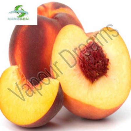 Juicy Peach E Liquid 10mls - Hangsen